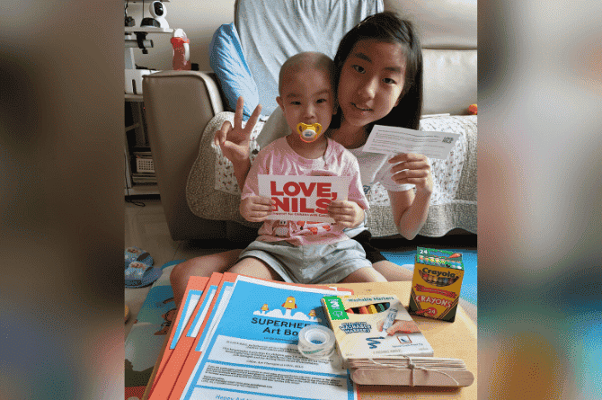 'Go for Gold' With LOVE, NILS for International Child Cancer Awareness Month