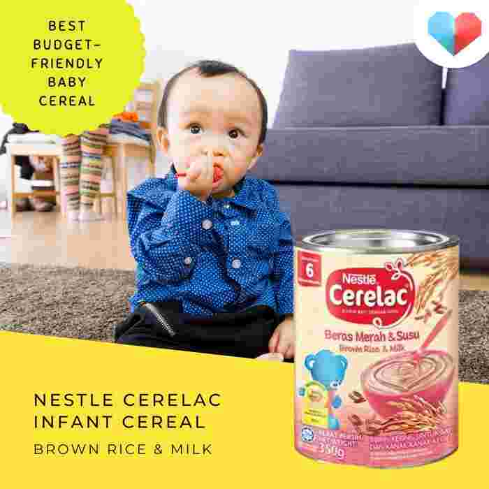Nestlé Cerelac Infant Cereal - Brown Rice with milk: Best budget-friendly baby cereal