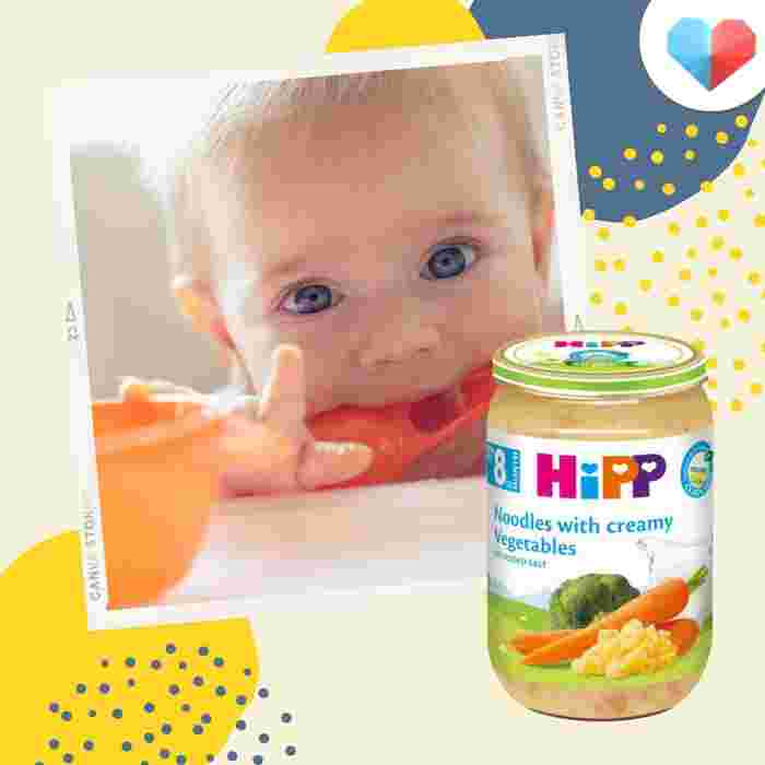 HiPP Organic Noodles with Creamy Vegetables