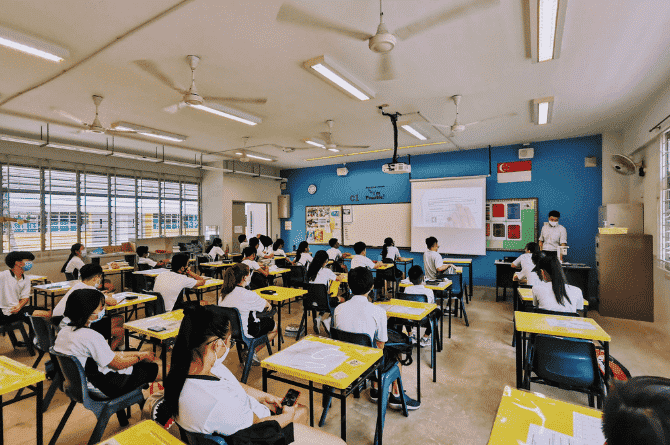 exam instructions for school students
