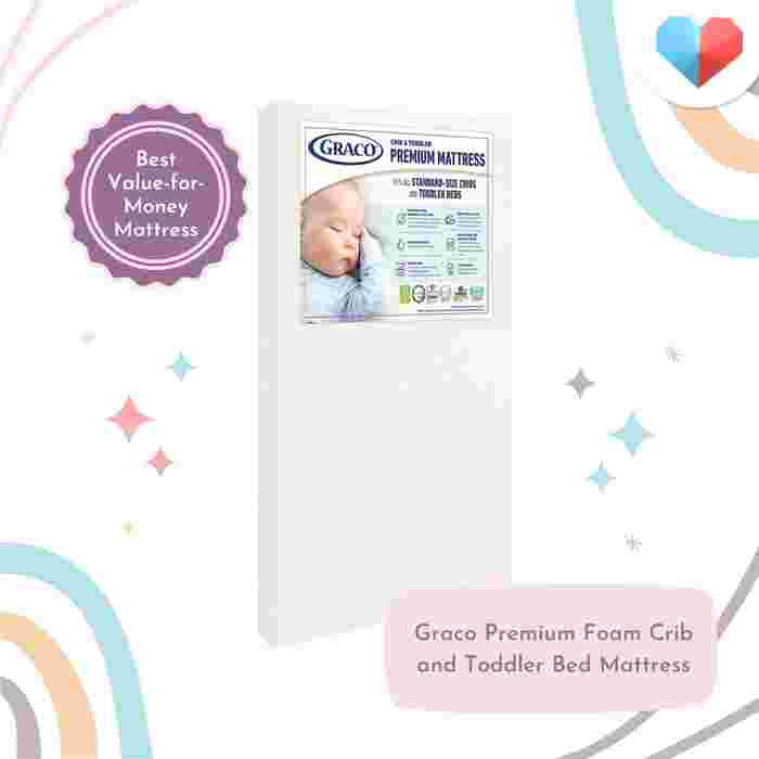 Graco Premium Foam Crib and Toddler Bed Mattress Review  Best Value-for-Money Mattress