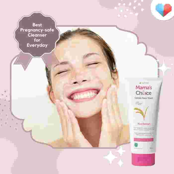 Mama's Choice Gentle Face Wash - Best Pregnancy-safe <yoastmark class='yoast-text-mark'/>Facial Cleanser for Everyday