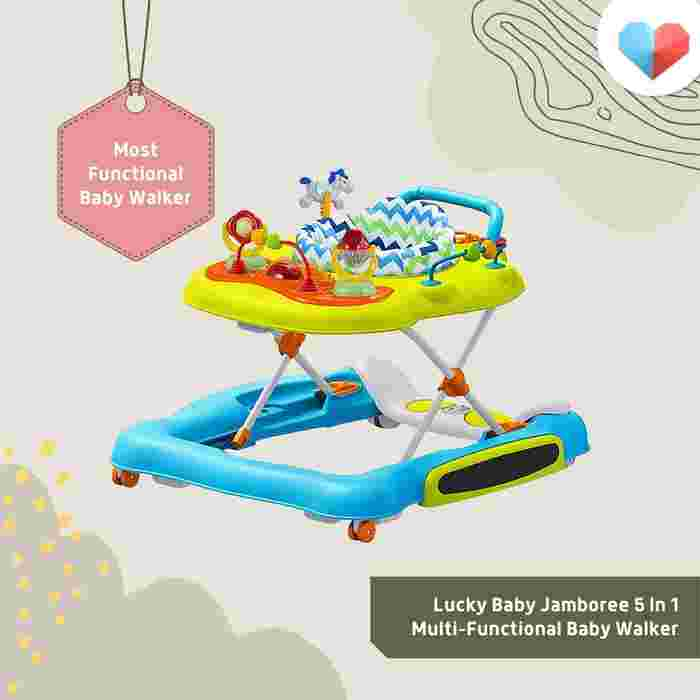 Lucky Baby Jamboree 5 in 1 Multi-Functional Baby Walker Review  Most Functional Baby Walker