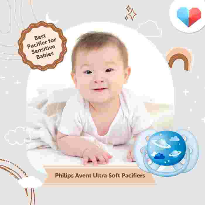 Philips Avent Ultra Soft Pacifier - Best Pacifier for Sensitive Babies