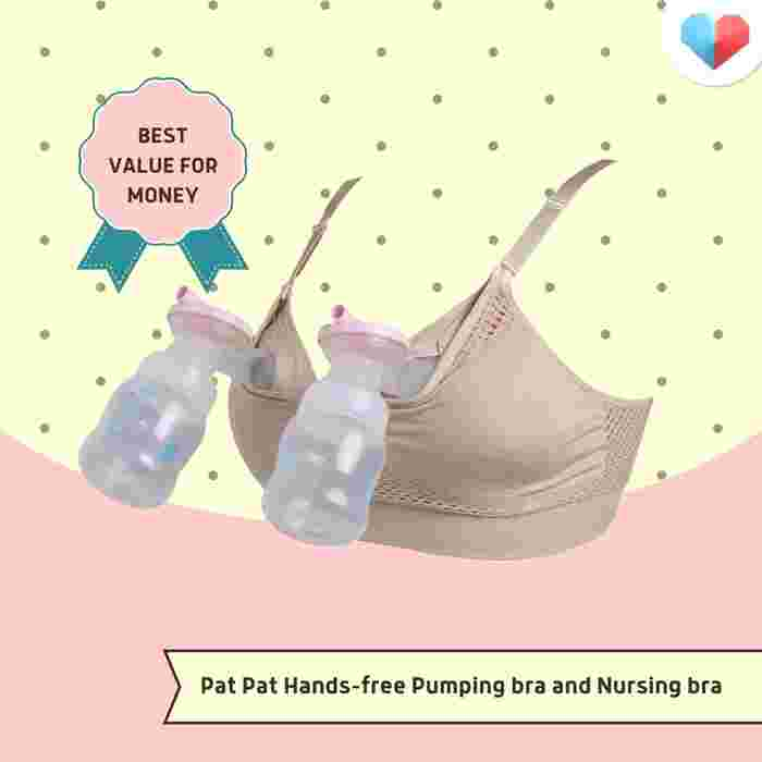 Pat Pat Hands-free Pumping and Nursing Bra Review  Best value for money
