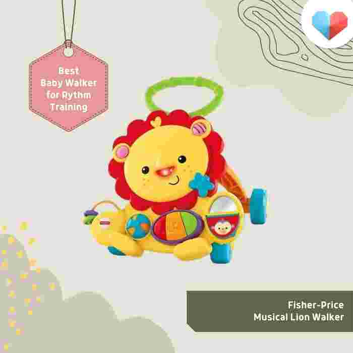 Fisher-Price Musical Lion Walker Review  Best Baby Walker for Rhythm Training