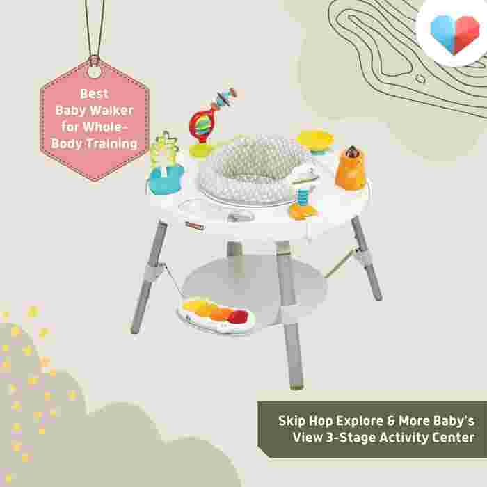 Skip Hop Explore and More Baby's View 3-stage Activity Centre Review  Best Baby Walker for Whole-Body Training