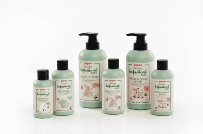 Pigeon Launches New Baby Skincare Range Called Natural Botanical Baby