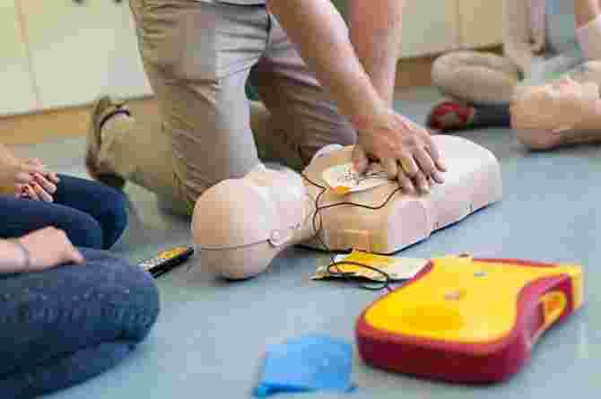 CPR On Baby