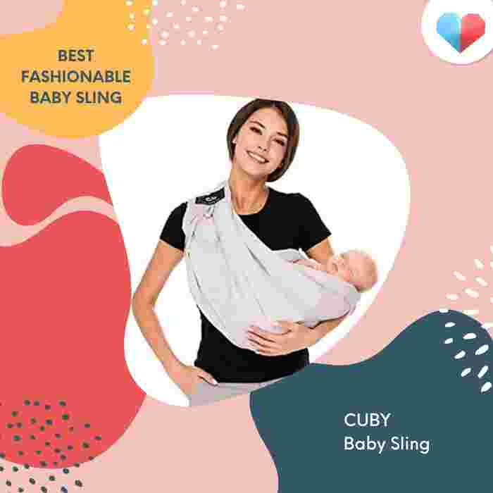 CUBY Baby Sling Review  Best Fashionable Baby Sling