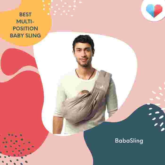 BabaSling Review  Best Multi-position Baby Sling