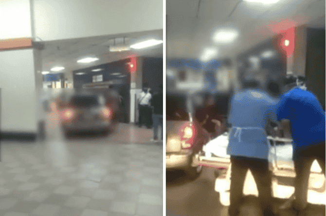 Malaysian Man Panics, Drives And Parks Car At Hospital Lobby To Save Father From Heart Attack