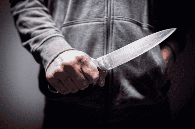 son stabs mother to death