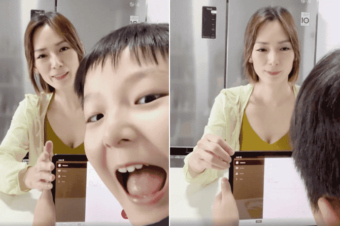 Jacelyn Tay Tries A 'Lie Detector' Test To Answer Son's Witty And Adorable Questions