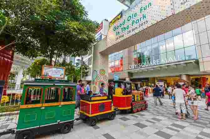 family friendly shopping malls in Singapore