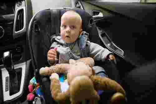baby in car seat 13