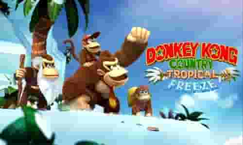 Donkey Kong Country Tropical Freeze Nintendo Switch มือสอง