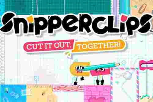 Snipperclips Nintendo Switch มือสอง