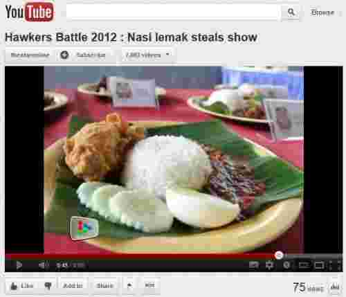 Battle of Penang Hawkers 2012