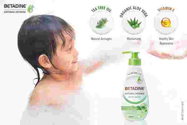 chemicals in body wash