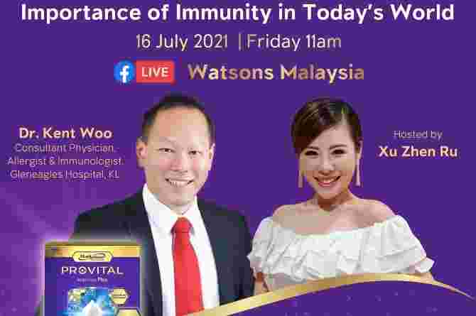 PROVITAL Immuna Plus' 'Importance of Immunity in Today's World' event with Watsons Malaysia (1)