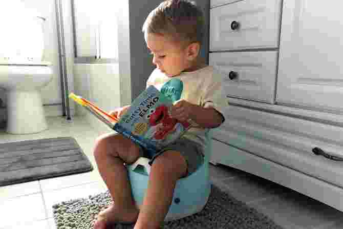 Easiest Trick to Teach Your Child to Start Potty Training? All They Need Is A Cute Potty Toilet To Begin Their Journey!