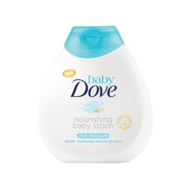 src=http://admin.theindusparent.com/wp content/uploads/2015/11/lotion 360x360.jpg The wonders of Baby Dove Rich Moisture Nourishing Baby Lotion on baby's delicate skin – Mum review