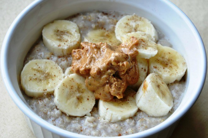 peanut butter oatmeal 1 Paediatrician reveals 2 common foods to avoid feeding your baby!