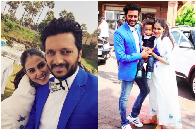 src=http://admin.theindusparent.com/wp content/uploads/2016/07/PicMonkey Collage RD 1.jpg Riteish Deshmukh credits wife Genelia for making him a responsible father