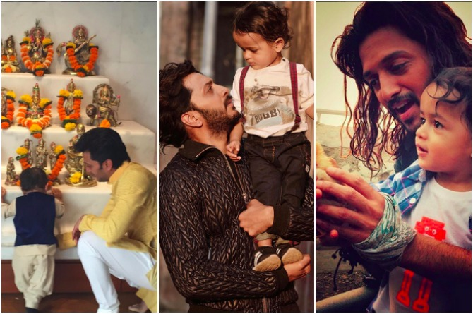 src=http://admin.theindusparent.com/wp content/uploads/2016/07/PicMonkey Collage RD 2.jpg Riteish Deshmukh credits wife Genelia for making him a responsible father