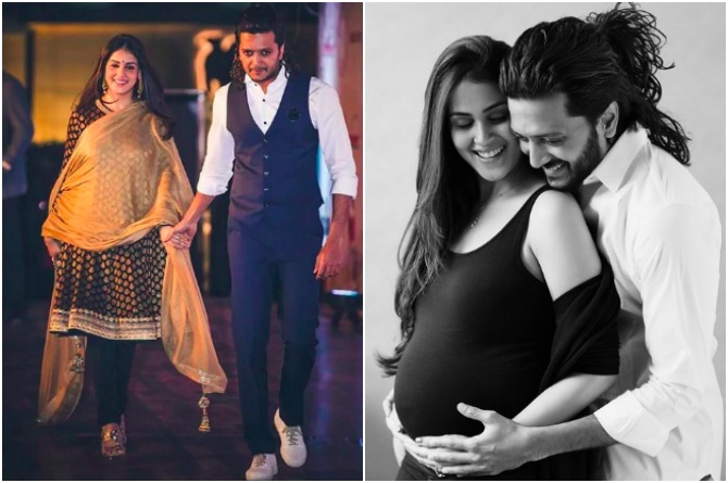 src=http://admin.theindusparent.com/wp content/uploads/2016/07/PicMonkey Collage RD 3.jpg Riteish Deshmukh credits wife Genelia for making him a responsible father