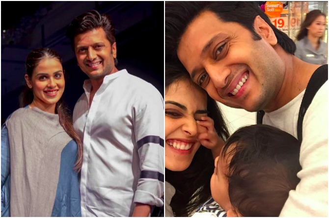 src=http://admin.theindusparent.com/wp content/uploads/2016/07/PicMonkey Collage RD 4.jpg Riteish Deshmukh credits wife Genelia for making him a responsible father