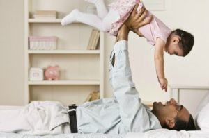 How a Father's Psychological Well-Being Affects a Child