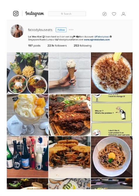 1 10 Inspiring Instagrammers in Malaysia