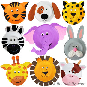 paperplateanimals mainpic2 Fun Kid Projects: Paperplate Animals
