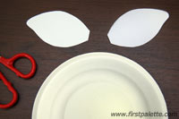 paperplateanimals step2a Fun Kid Projects: Paperplate Animals