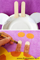 paperplateanimals step7 1 Fun Kid Projects: Paperplate Animals