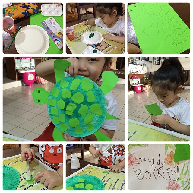 turtle craft Fun Kid Projects: Paperplate Animals