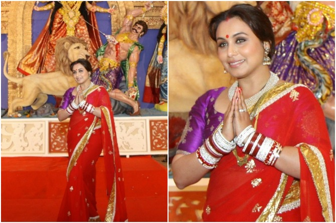 Rani Mukherjee 5 amazing Durga puja looks you must try!
