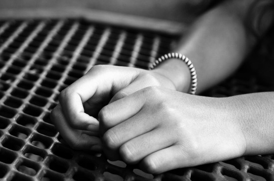 thumb anxious hands Real mum stories: A Malaysian mum's story of how she overcame physical abuse