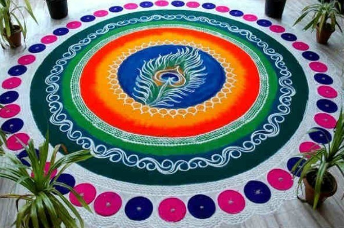 src=http://hindi admin.theindusparent.com/wp content/uploads/sites/10/2016/03/holi rangoli cropped.jpg इस साल Without Water होली खेलने के नायाब तरीके