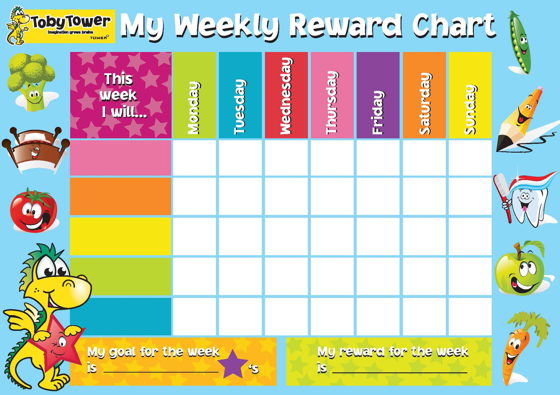29020 Reward Chart  Progress Chart For Kids