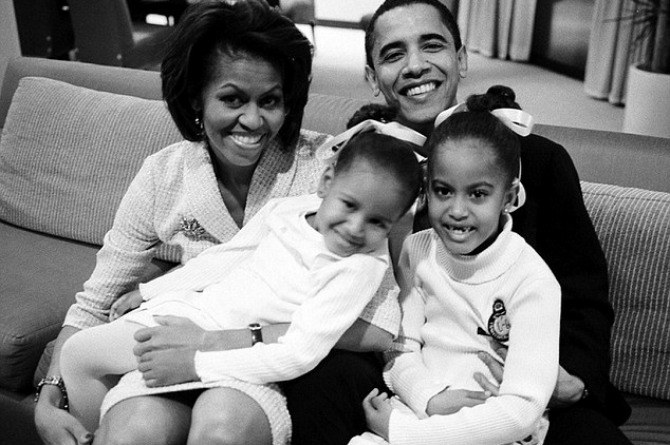 obama fam pinterest Barack Obama's hands on parenting style is one of his most admirable achievements