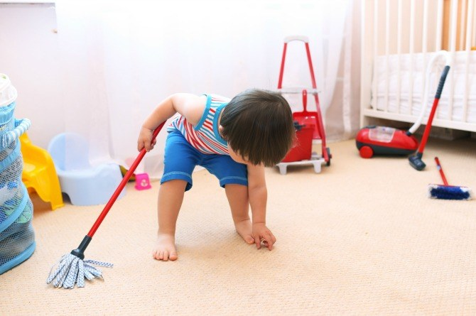 teaching your toddler responsibility