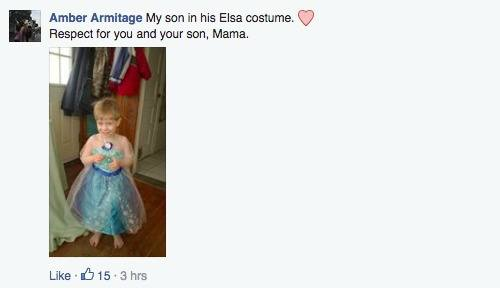 """tutu 1 A stranger called her a """"bad mommy"""" for letting her son wear a tutu, and her response went viral"""
