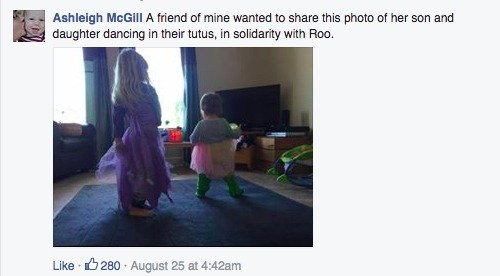 """tutu 3 A stranger called her a """"bad mommy"""" for letting her son wear a tutu, and her response went viral"""