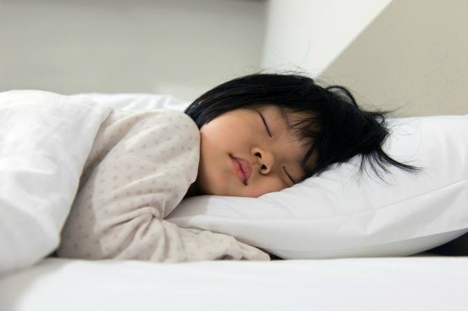 child to sleep in own bed
