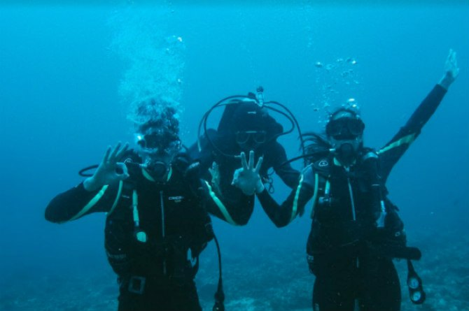 maxene diving Want to make travelling with 'the one' extra fun? Take your cue from Maxene Magalona and fiancé Robby Mananquil
