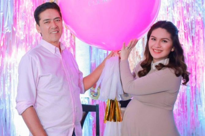 pauleen birth feat  Pauleen Luna gives birth to a baby girl