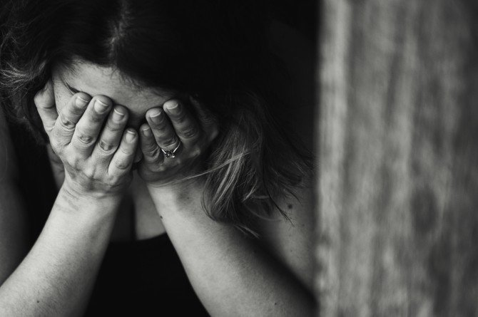 mother fighting depression